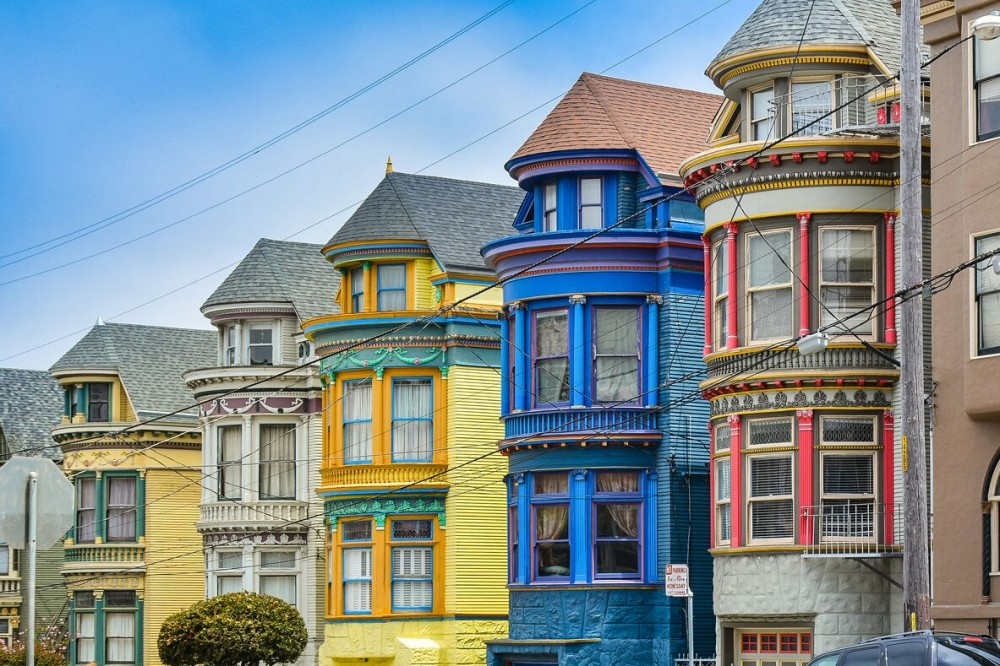 Fun things to do in San Francisco, Haight Ashbury Painted Ladies