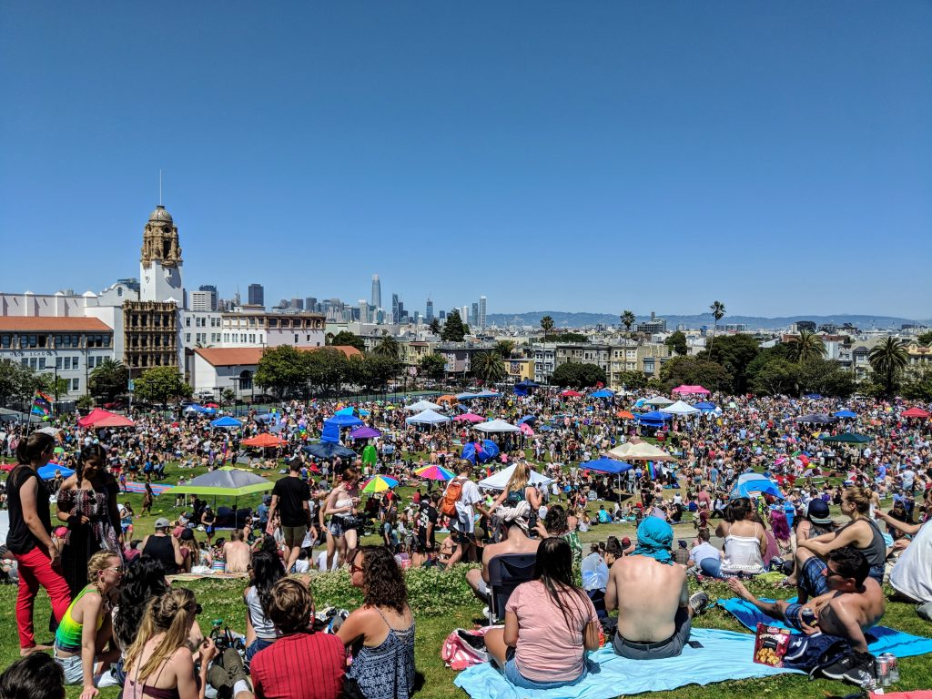 Fun things to do in San Francisco, Dolores Park