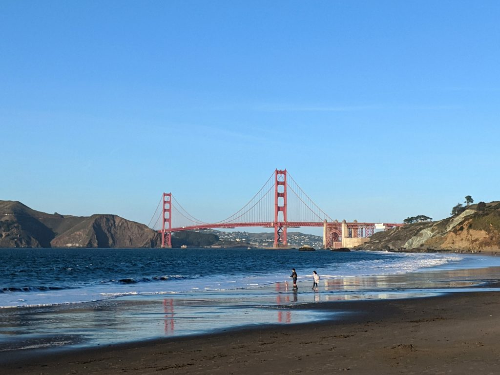 Fun things to do in San Francisco, Baker Beach