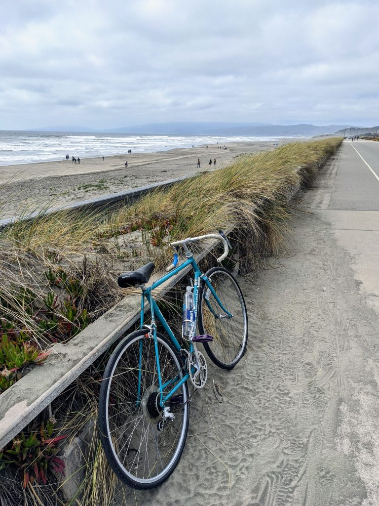 Fun things to do in San Francisco — Biking Ocean Beach
