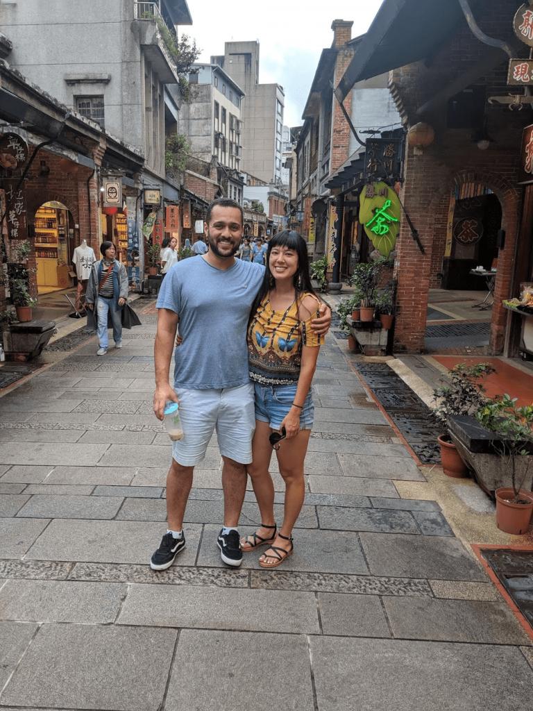 Shenkeng Old Street.