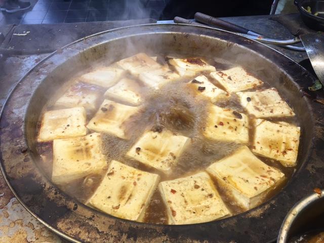 Taiwanese stinky tofu Shenkeng Old Street
